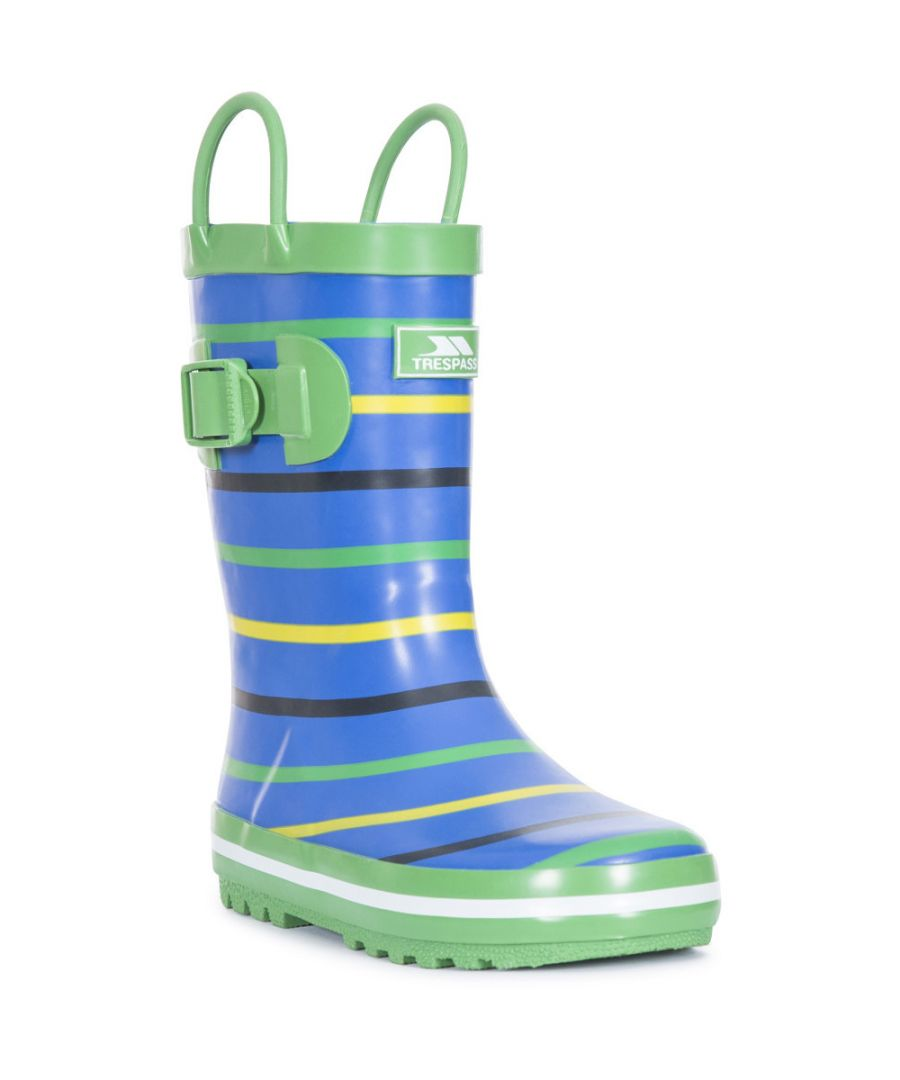 Image for Trespass Boys Splash Ii Cushioned Pull On Wellington Boots