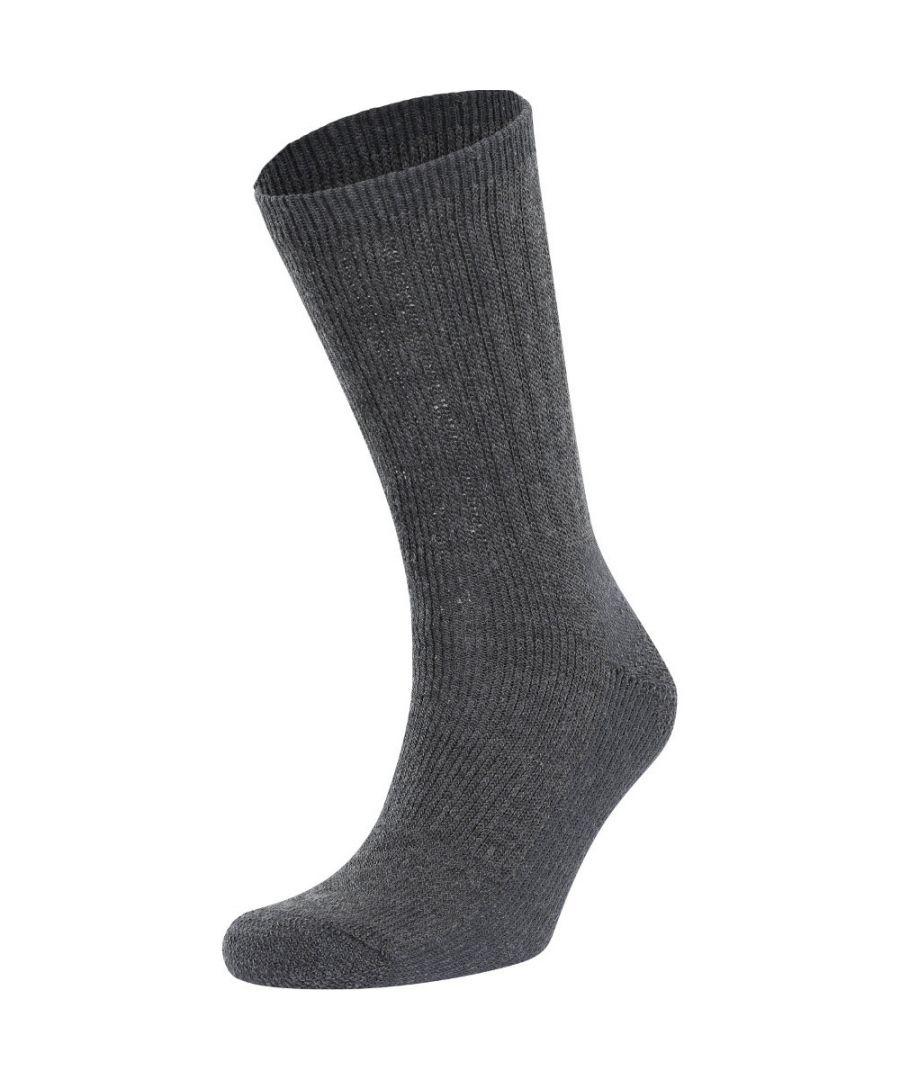 Image for Trespass Mens Stroller Elasticated Ribbed Walking Socks