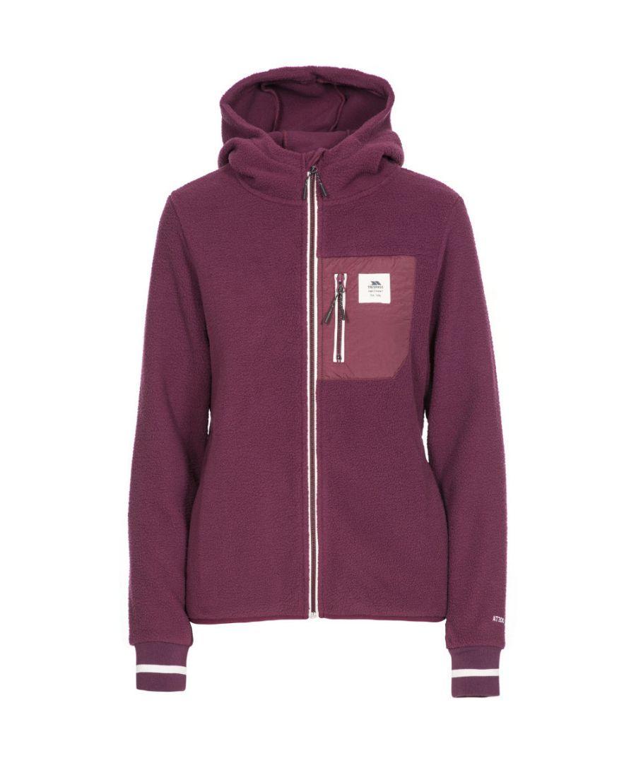 Image for Trespass Womens Rebola AT200 Hooded Full Zip Fleece Jacket