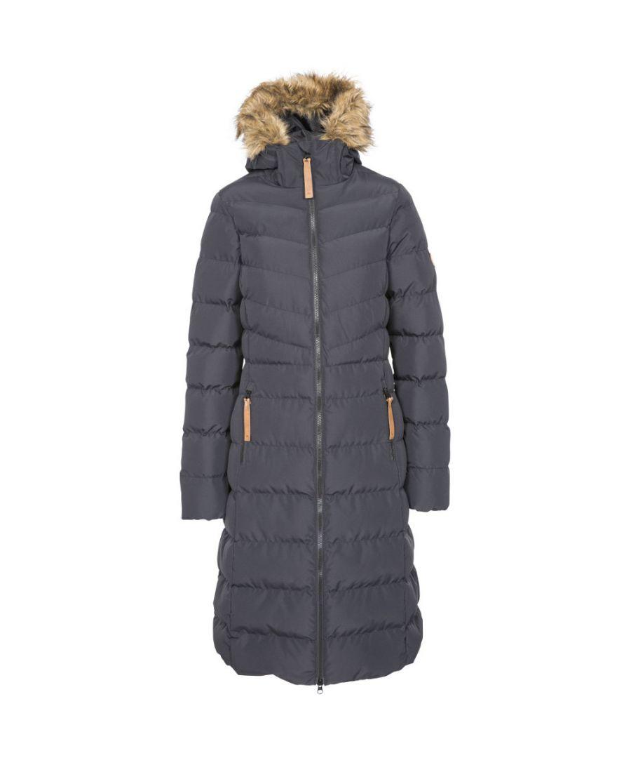 Image for Trespass Womens Audrey Padded Longer Length Jacket Coat