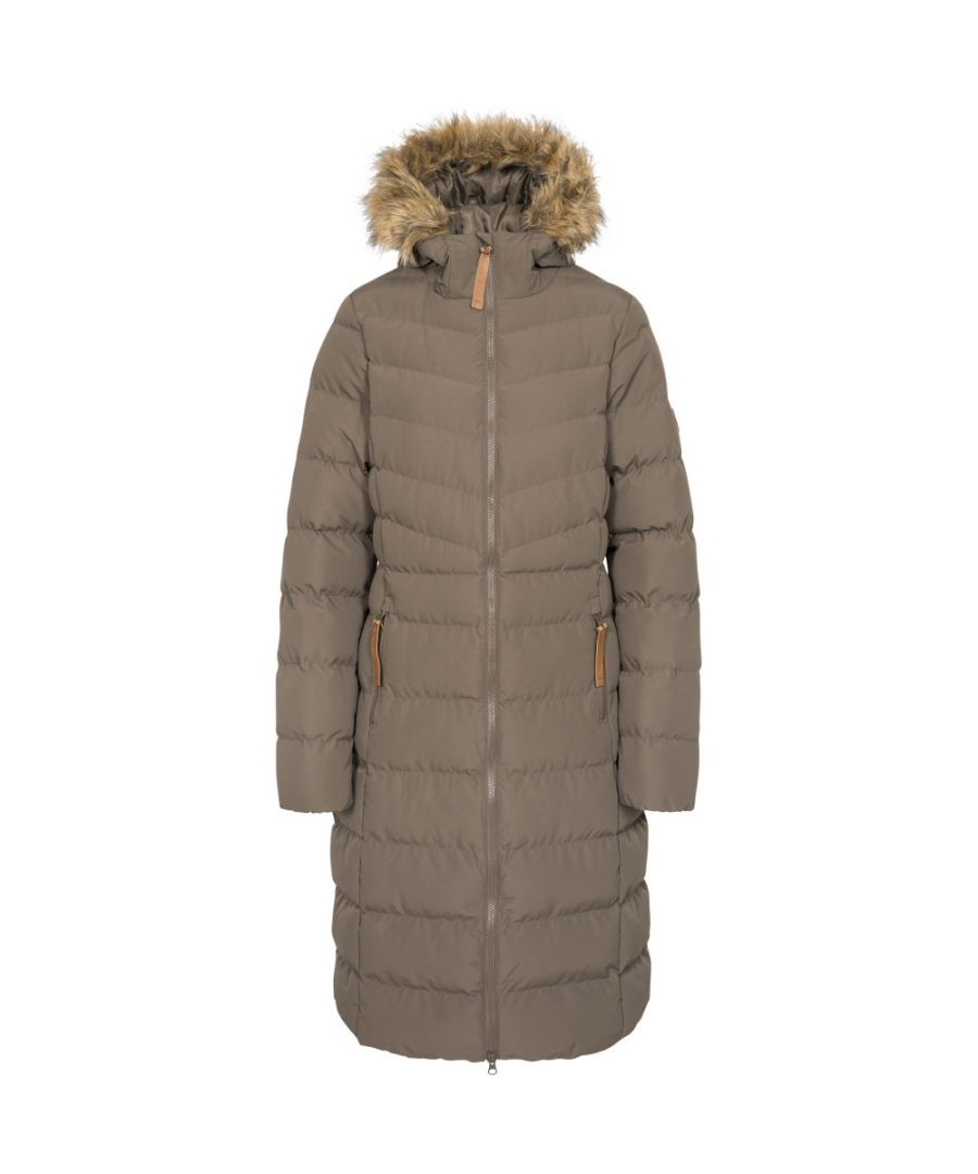 Image for Trespass Womens Audrey Padded Longer Length Jacket Coat