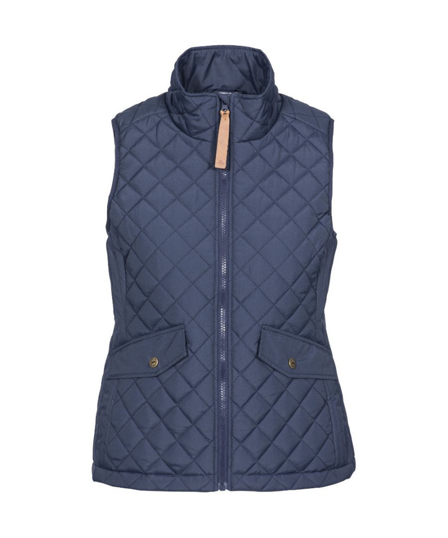 Image for Trespass Womens Larisa Padded Quilted Gilet Bodywarmer