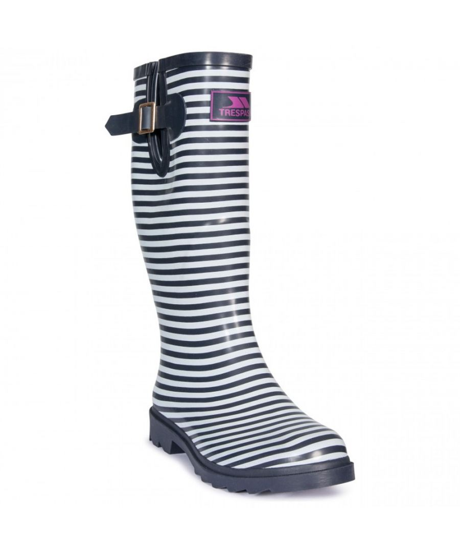 Image for Trespass Womens Samira Full Length Printed Wellington Boots