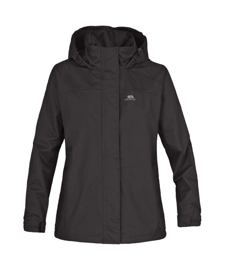Image for Trespass Girls Nasu Waterproof Windproof Hooded Jacket