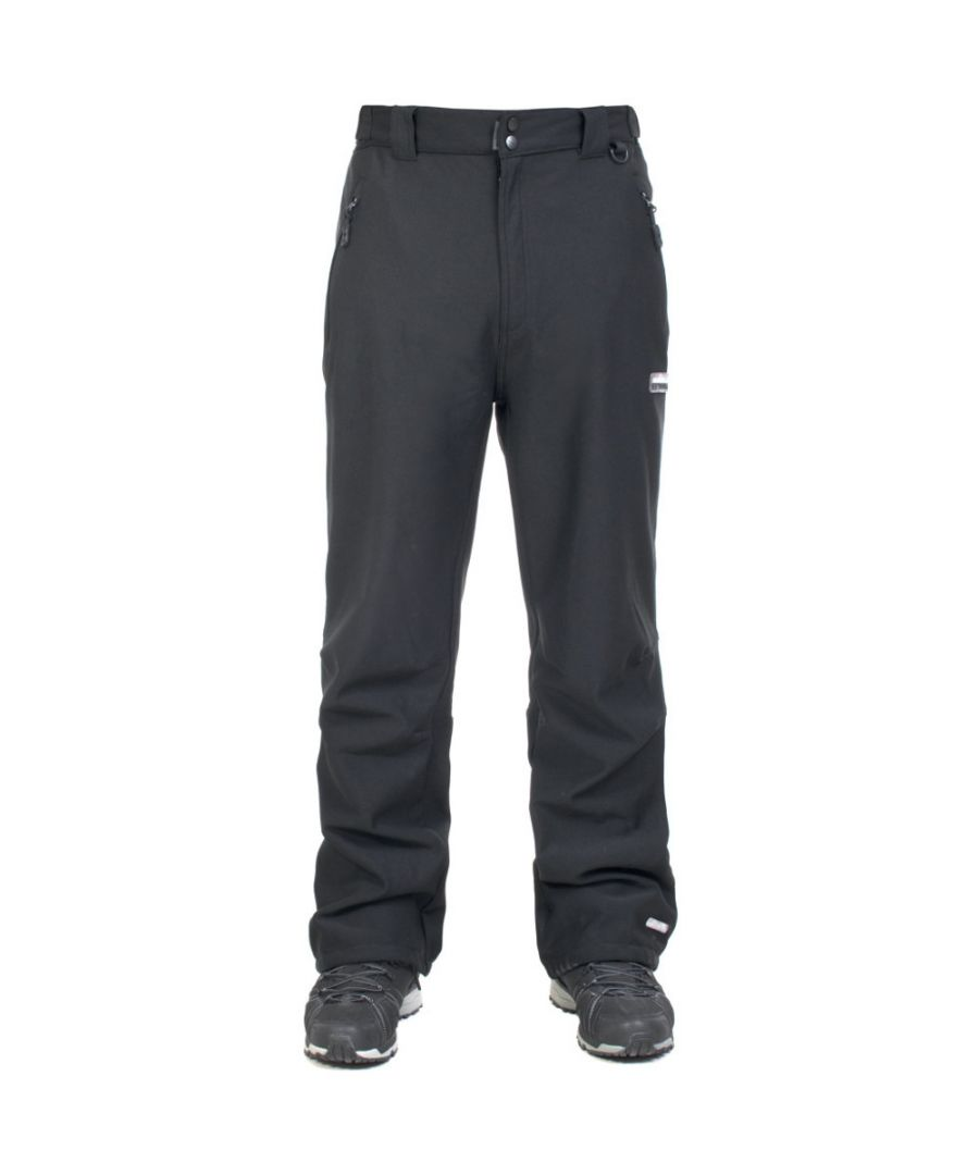 Image for Trespass Mens Hemic Waterproof Breathable Softshell Trousers
