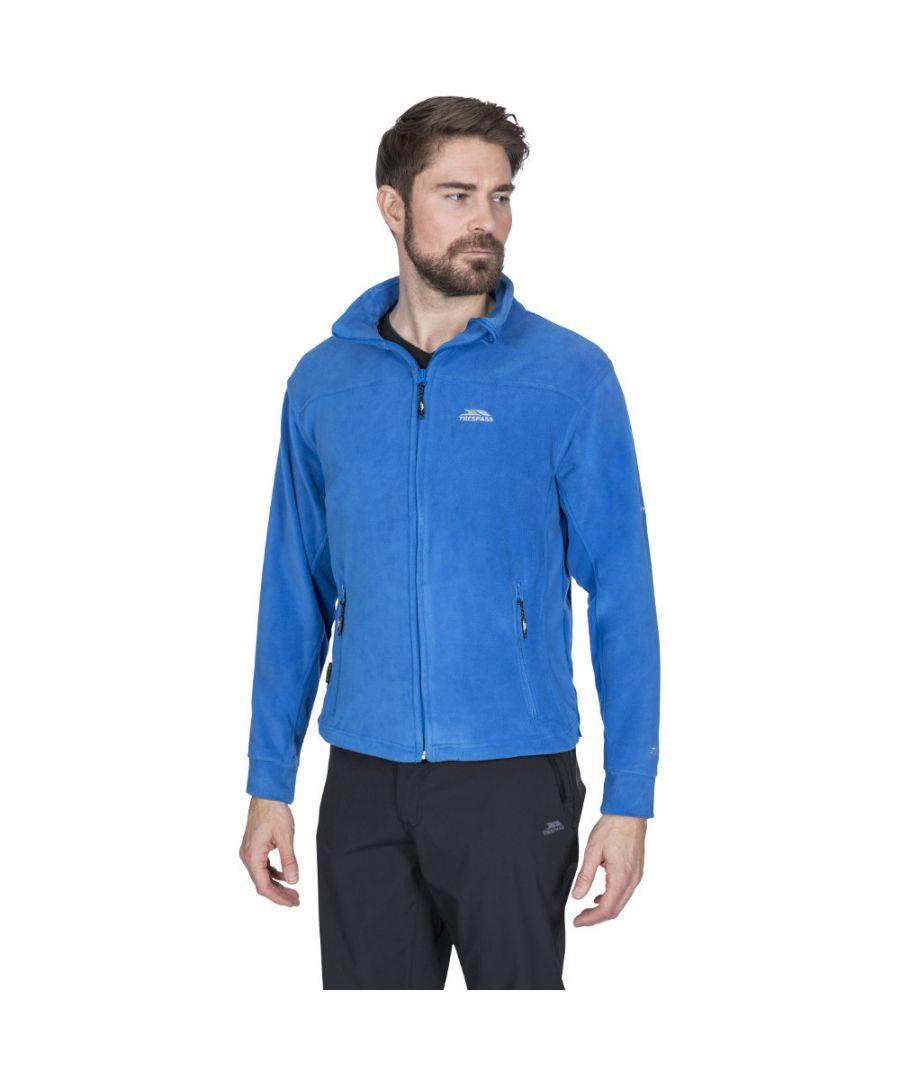 Image for Trespass Mens Bernal Full Zip Sueded Fleece Jacket