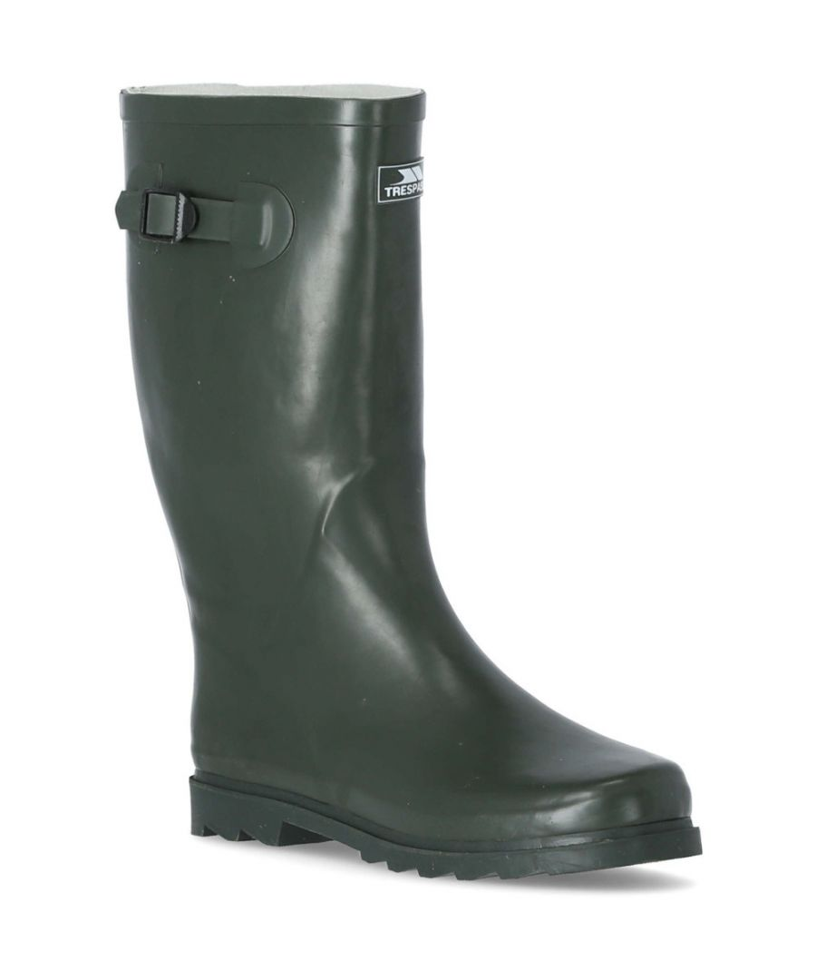 Image for Trespass Mens Recon X Waterproof Full Rubber Welly Wellington Boots