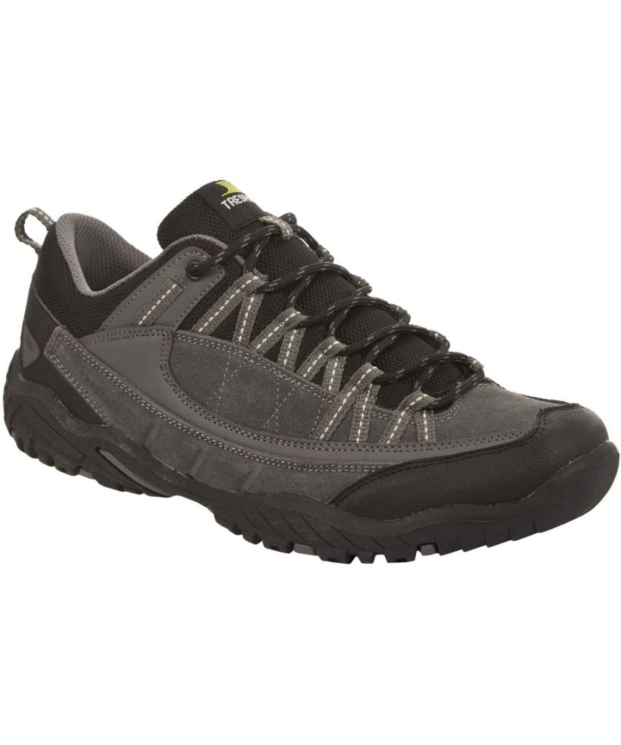 Image for Trespass Mens Taiga Lightweight Suede Walking Running Shoes