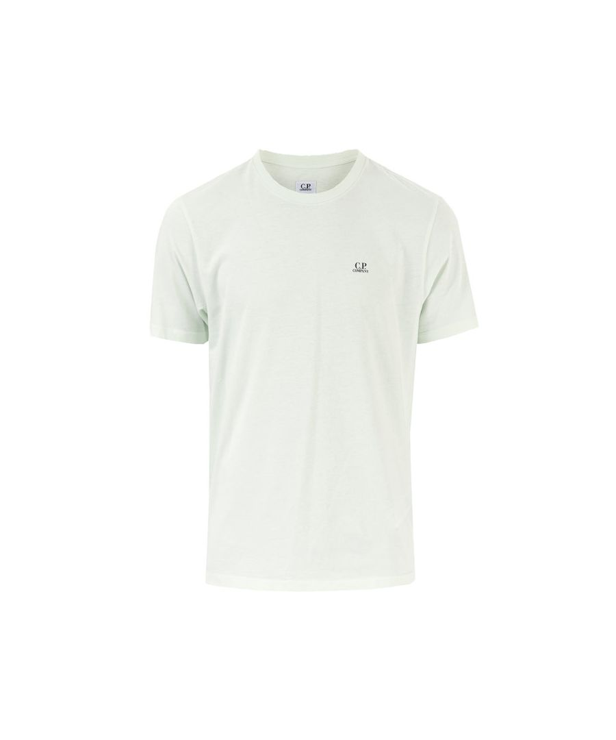 Image for Men's C.P. Company Small Logo T-Shirt in Mint