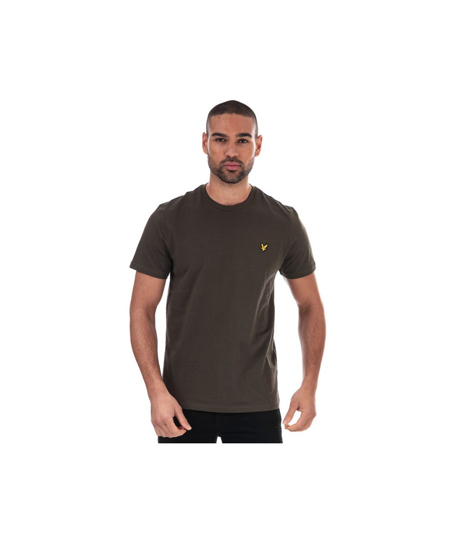 Image for Men's Lyle And Scott Plain T-Shirt in Green
