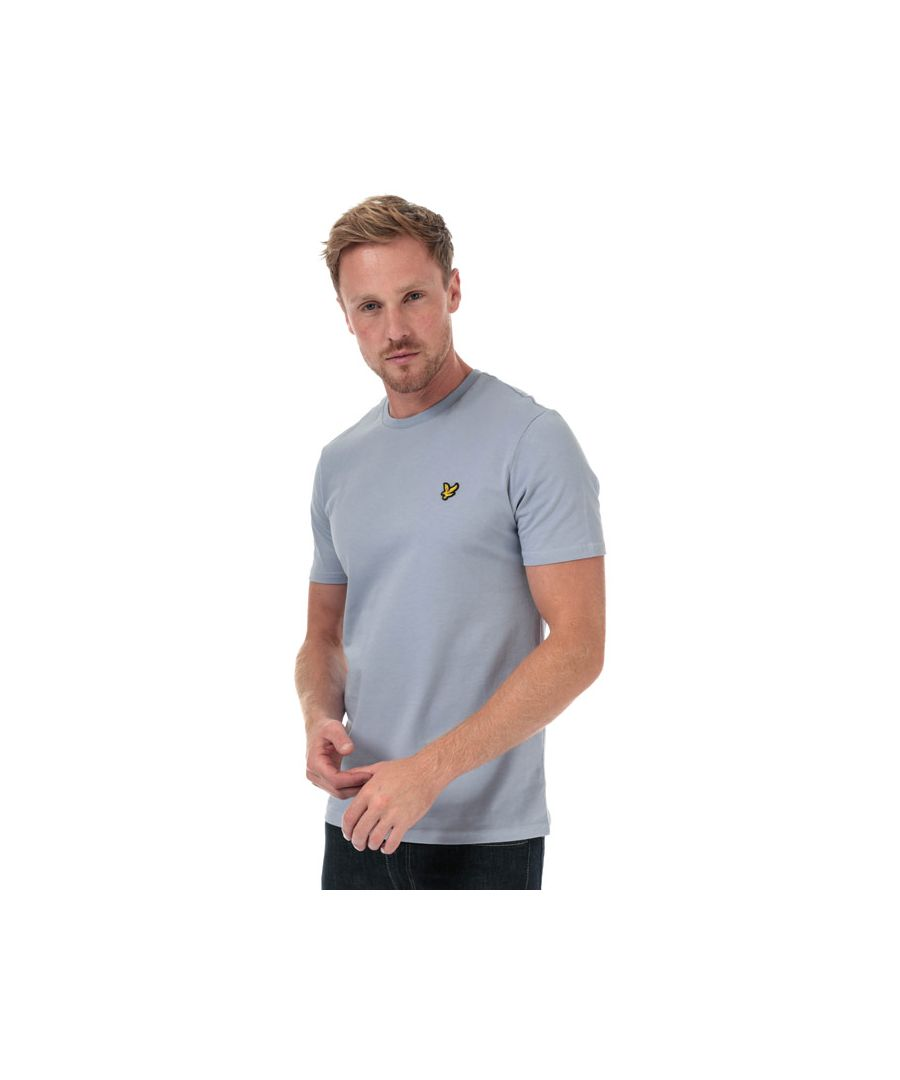 Image for Men's Lyle And Scott Plain T-Shirt in Light Blue