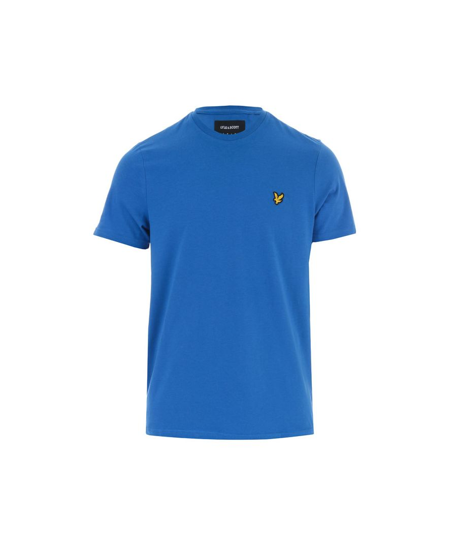 Image for Men's Lyle And Scott Crew Neck T-Shirt in Blue