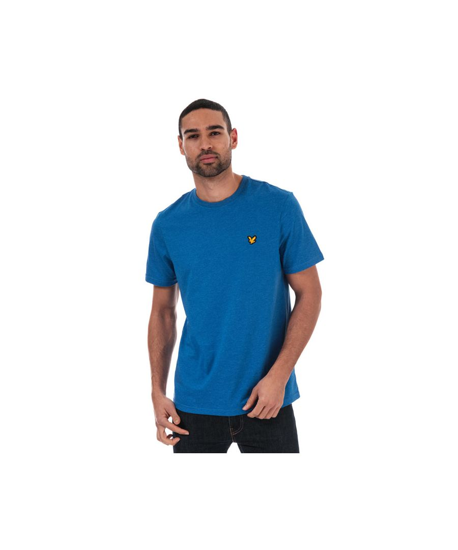 Image for Men's Lyle And Scott Sport Martin T-shirt in Blue