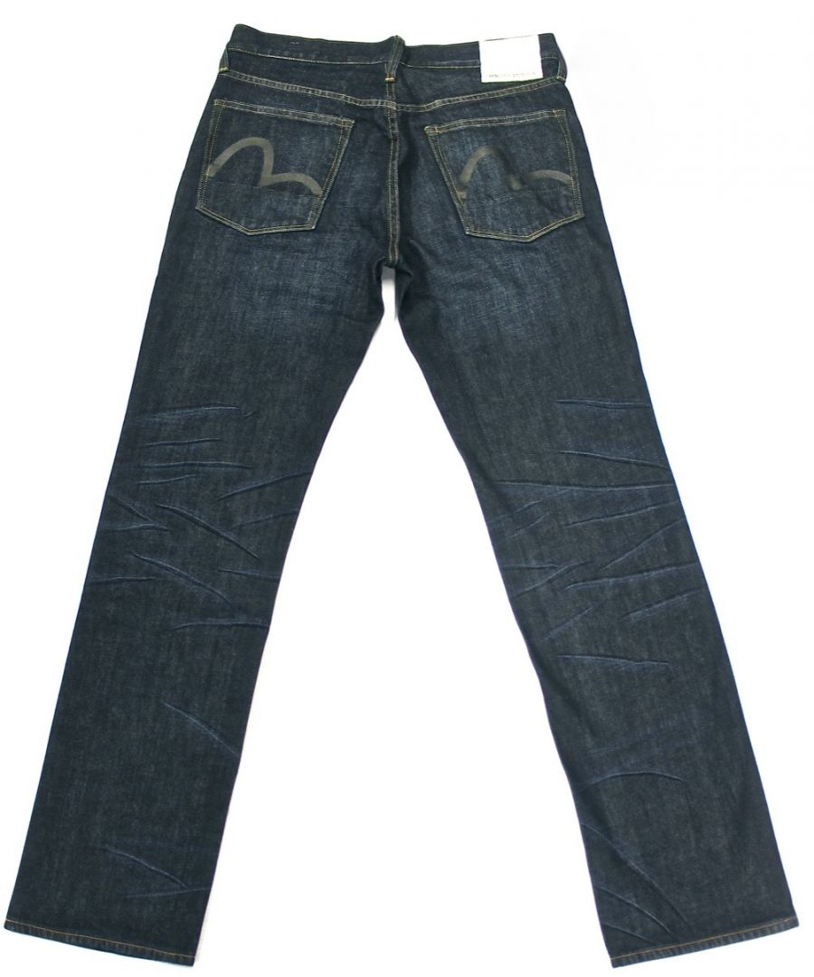 Image for Evisu Tungsten Dark Blue Jeans