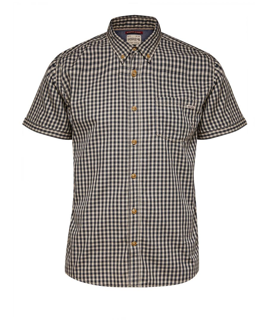 Image for Jack and Jones Tuscon One Slate Black Casual Shirt
