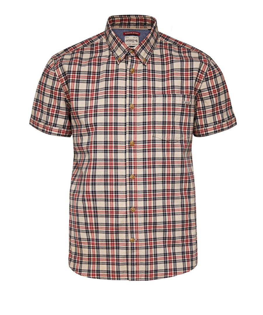 Image for Jack and Jones Tuscon One Chilli Pepper Red Casual Shirt