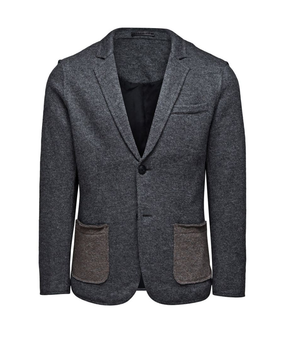 Image for Jack and Jones Twist Blazer Grey Jacket