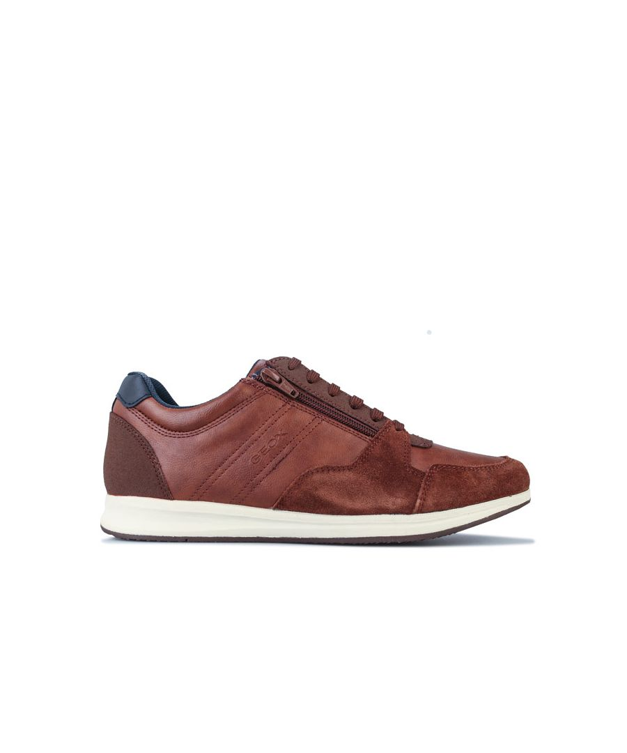 Image for Men's Geox Avery Trainers in Brown