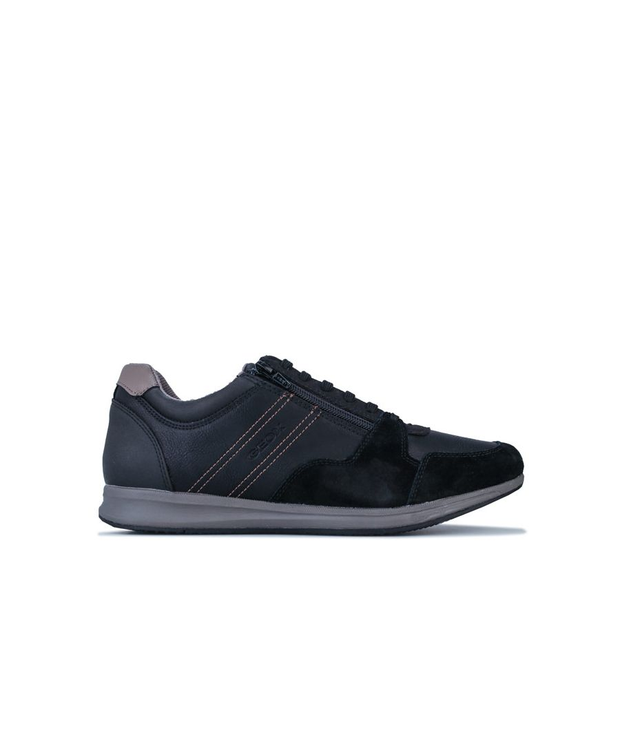Image for Men's Geox Avery Trainers in Black