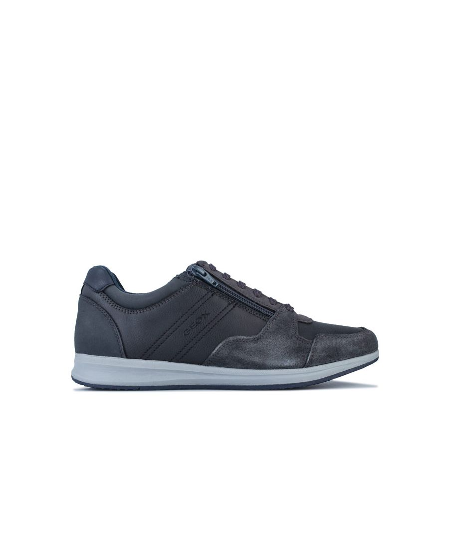 Image for Men's Geox Avery Trainers in Grey