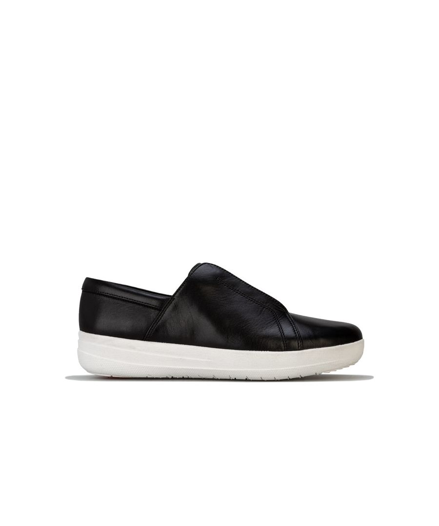 Image for Women's Fit Flop Racine Lace Up Trainers in Black