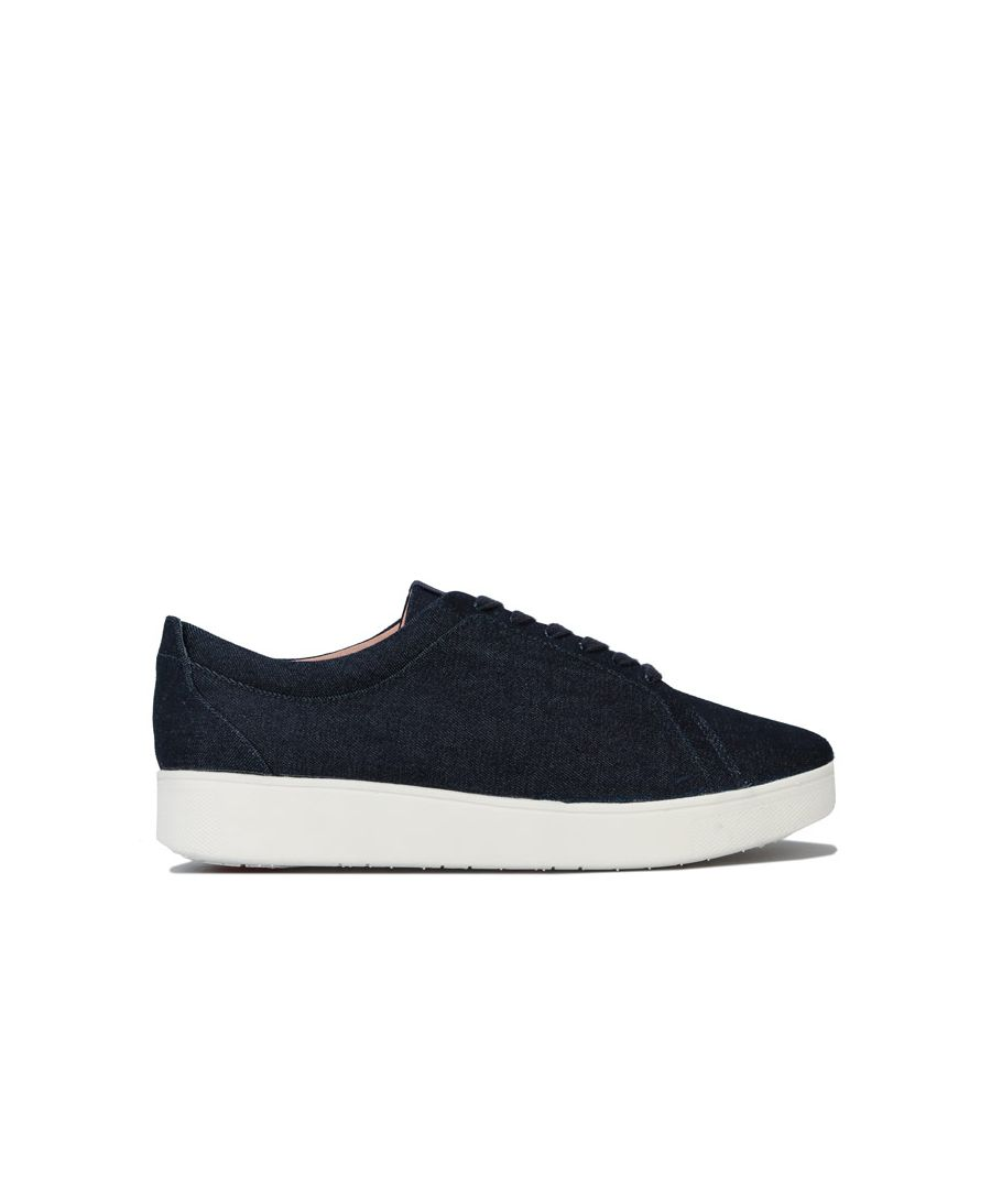 Image for Women's Fit Flop Rally Denim Trainers in Denim