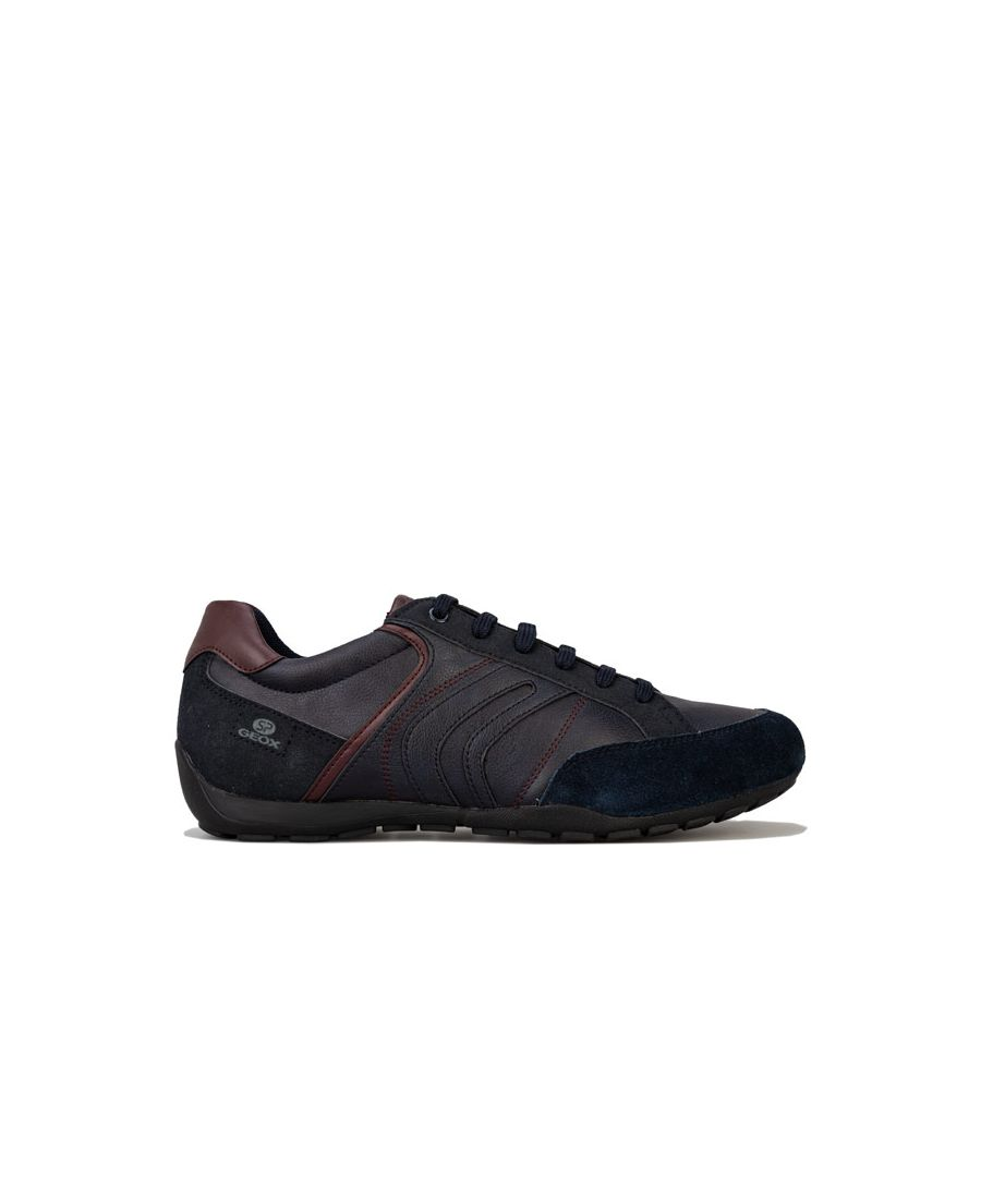 Image for Men's Geox Ravex Trainers in Navy