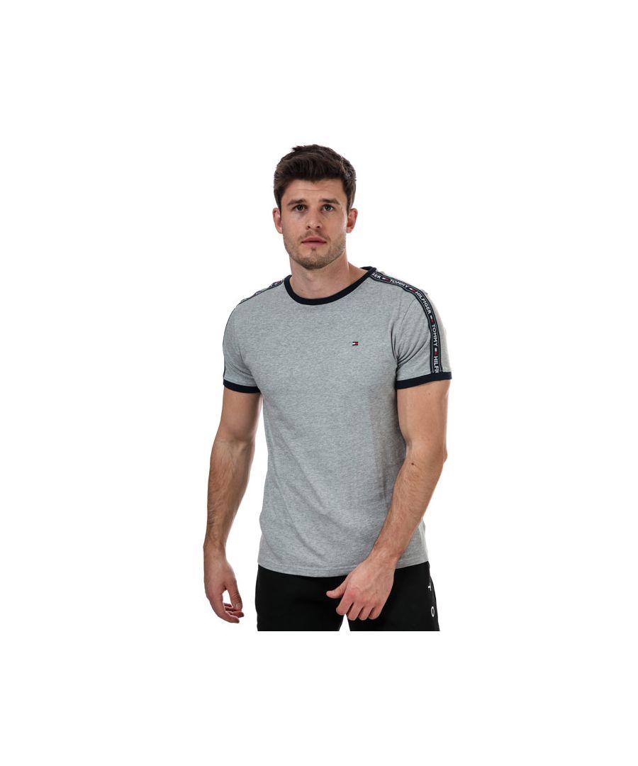 Image for Men's Tommy Hilfiger RN T-Shirt Grey Sin Grey