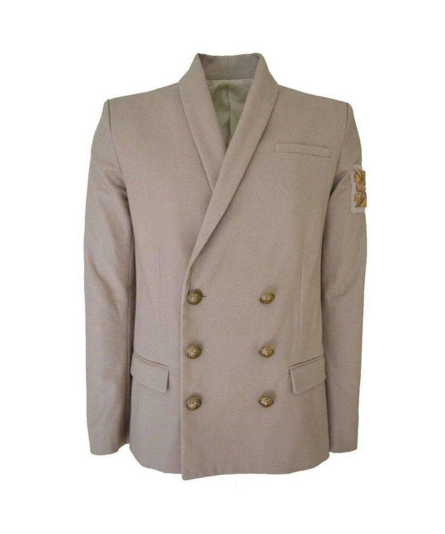 Image for Balmain Union Beige Blazer Jacket Men