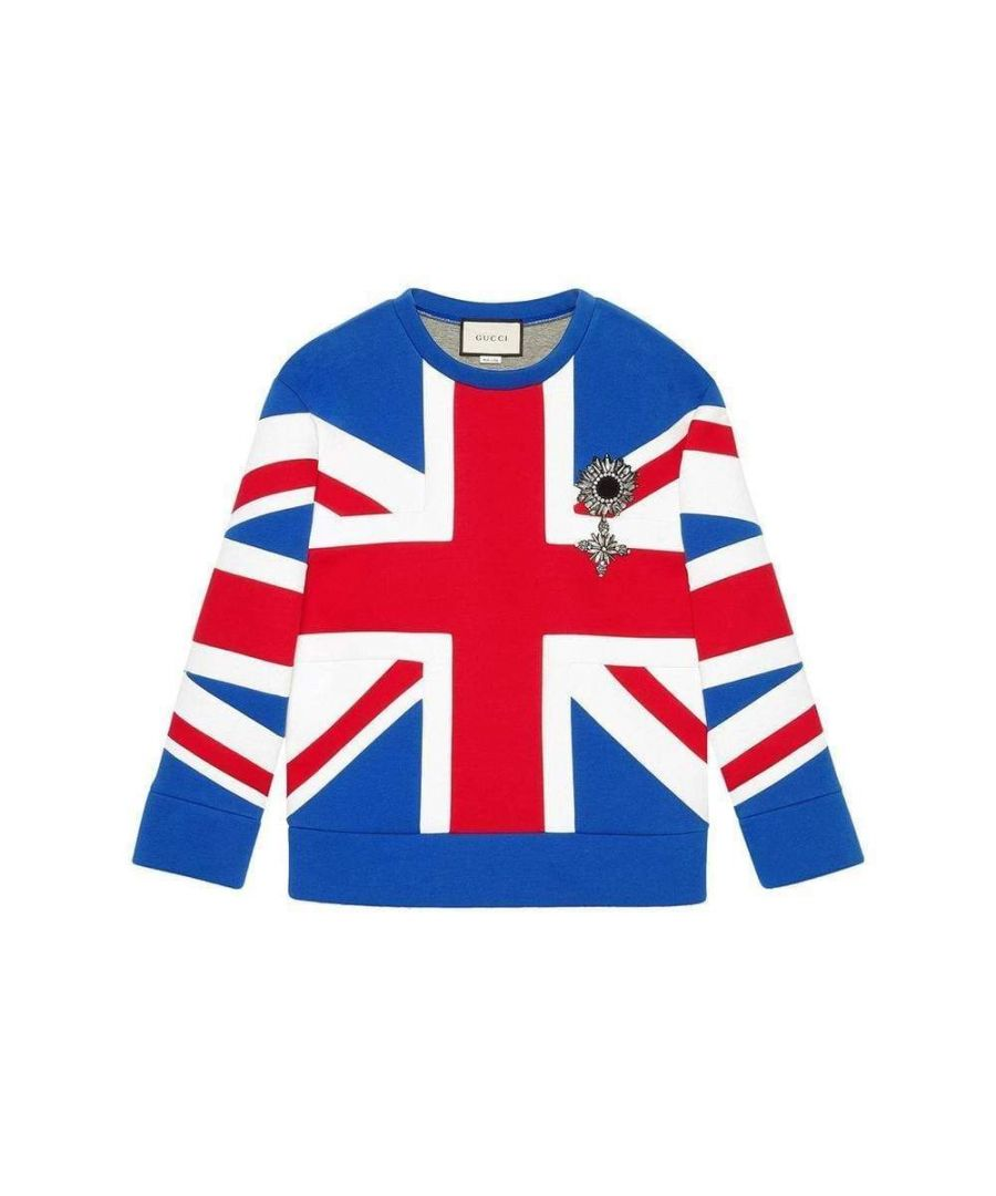 Image for Gucci Union Jack Jersey Sweatshirt