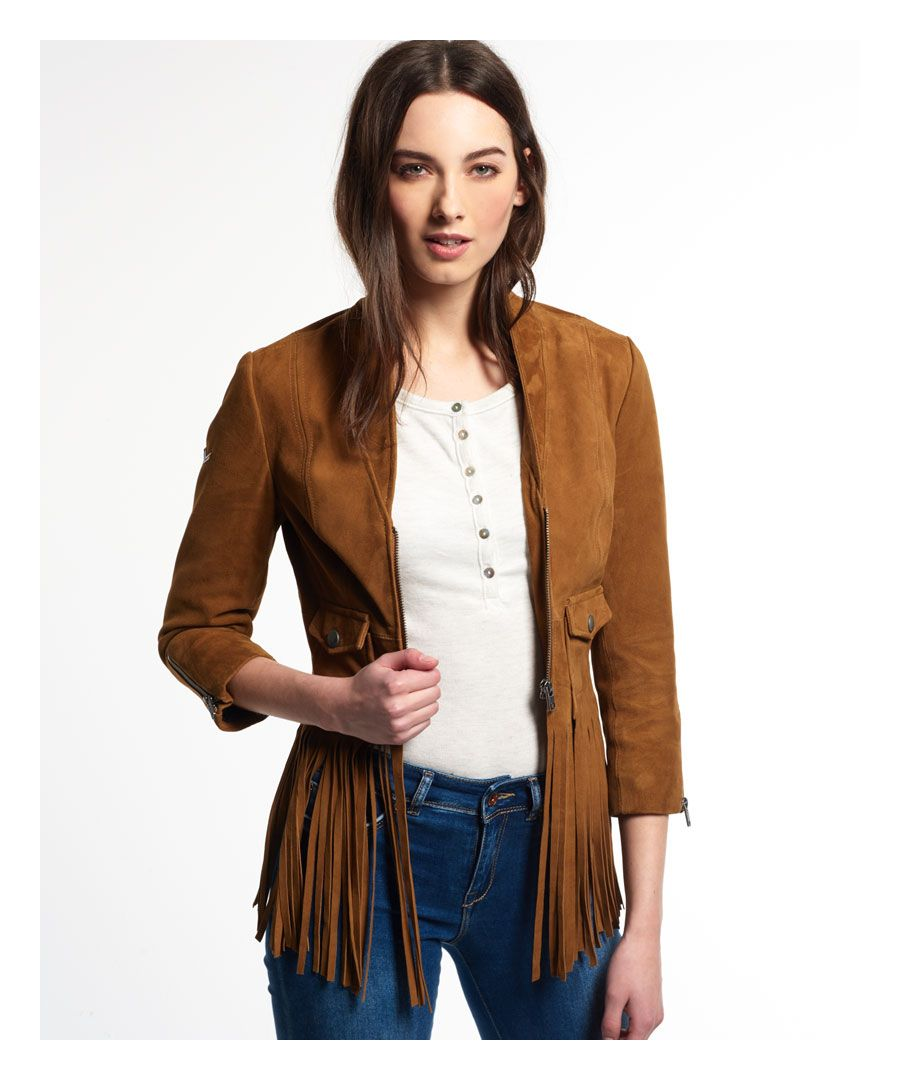 Image for Superdry Neonomad Fringe Jacket
