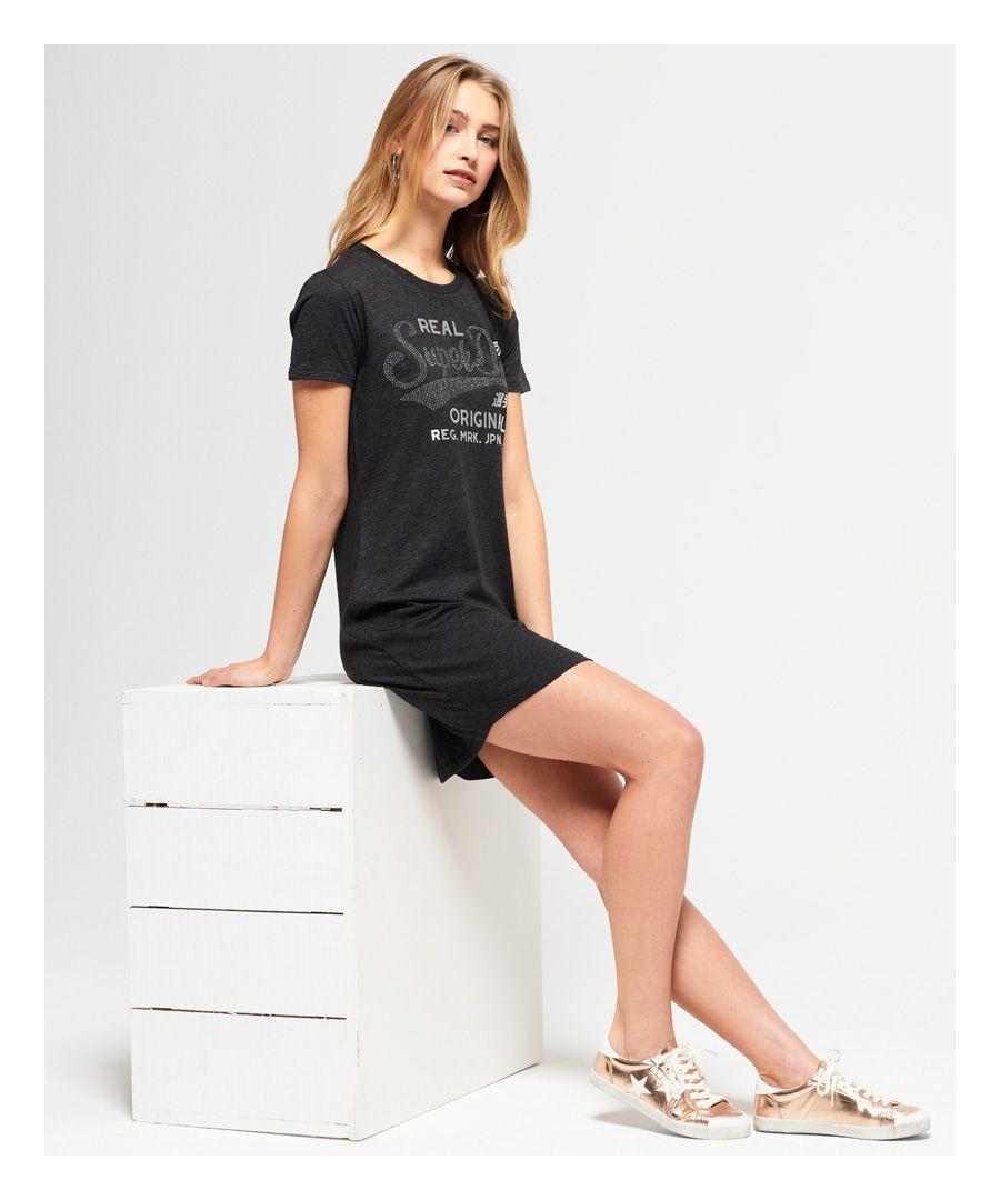 Image for Superdry Slim Line T-Shirt Dress