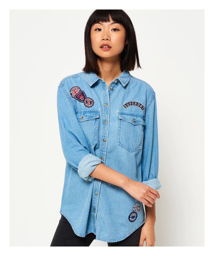 Image for Superdry Supersize Denim Shirt