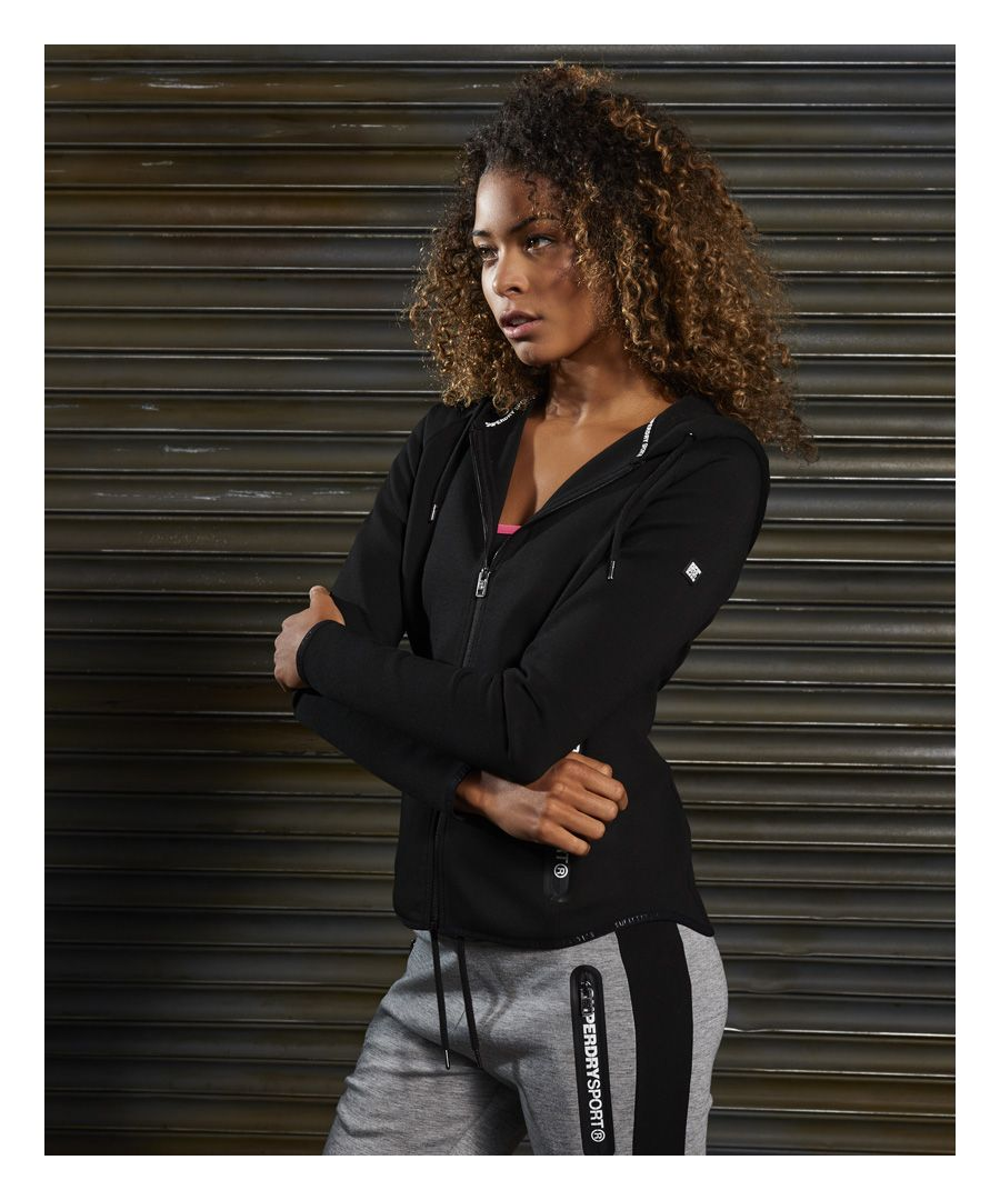 Image for Superdry SD Sport Gym Tech Luxe Zip Hoodie