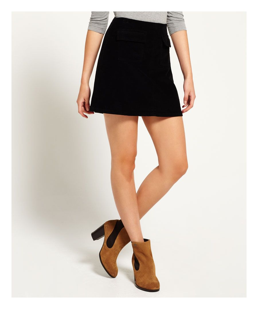 Image for Superdry Billie Cord Skirt