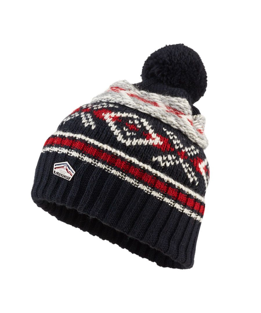 Image for Superdry Malmo Fairisle Beanie