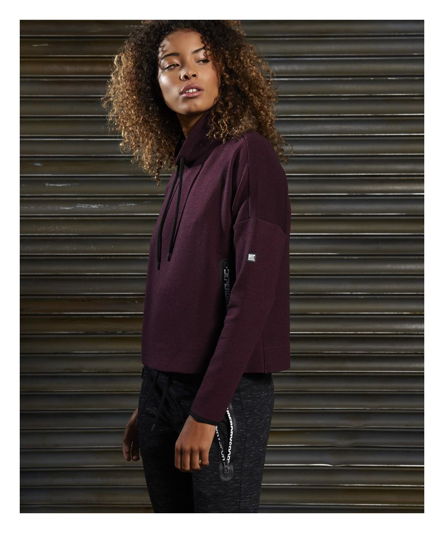 Image for Superdry SD Sport Gym Tech Luxe Funnel Hoodie
