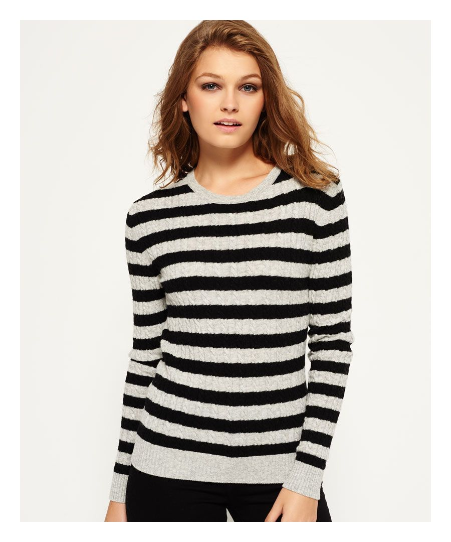 Image for Superdry Luxe Mini Cable Knit Jumper