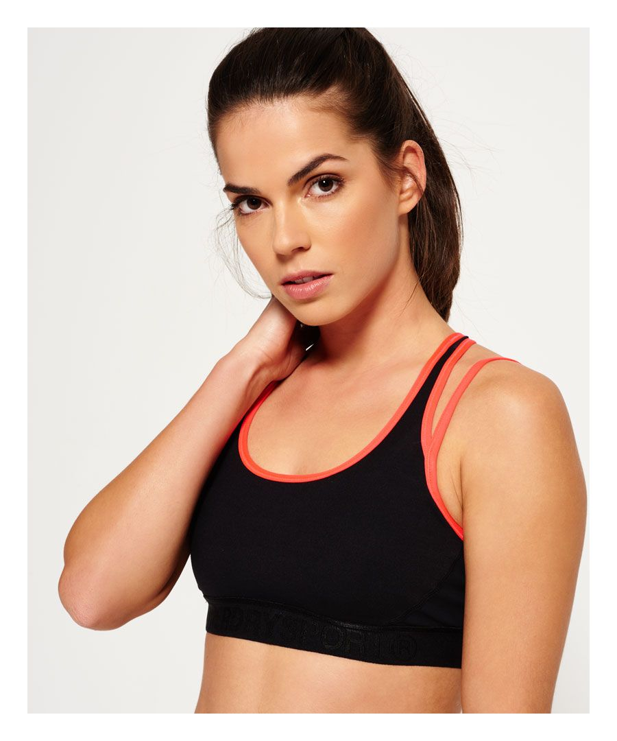 Image for Superdry Gym Duo Strap Bra