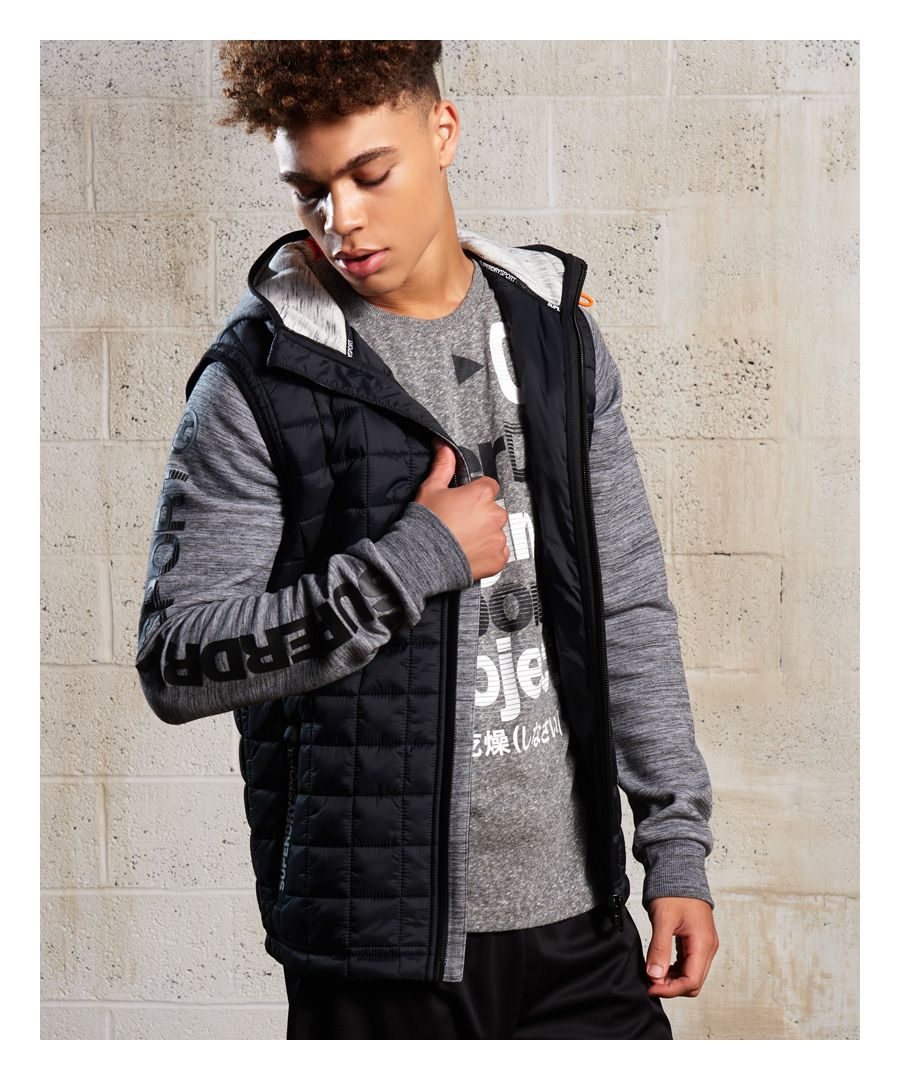 Image for Superdry Gym Tech Hybrid Jacket
