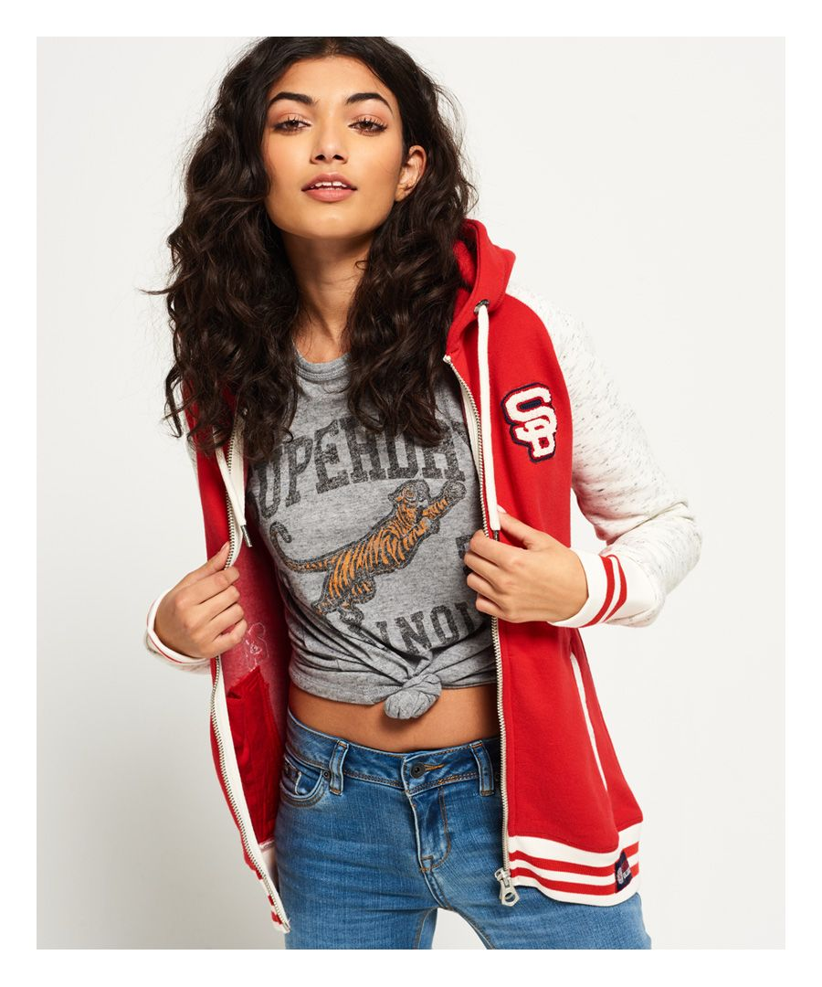 Image for Superdry College Patch Zip Hoodie