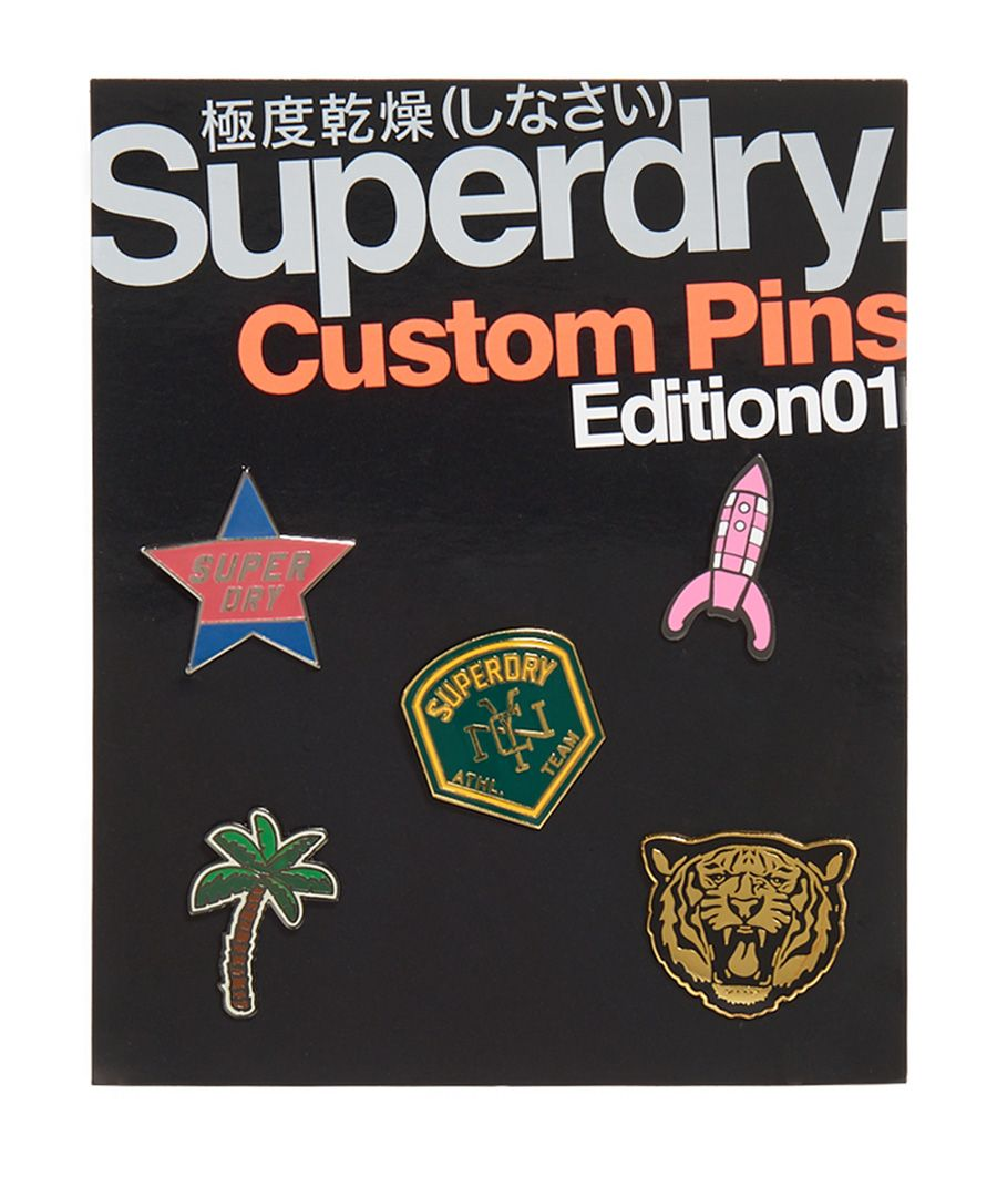 Image for Superdry Custom Pin Badge Pack