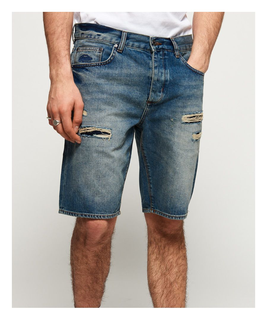 Image for Superdry Loose Denim Shorts
