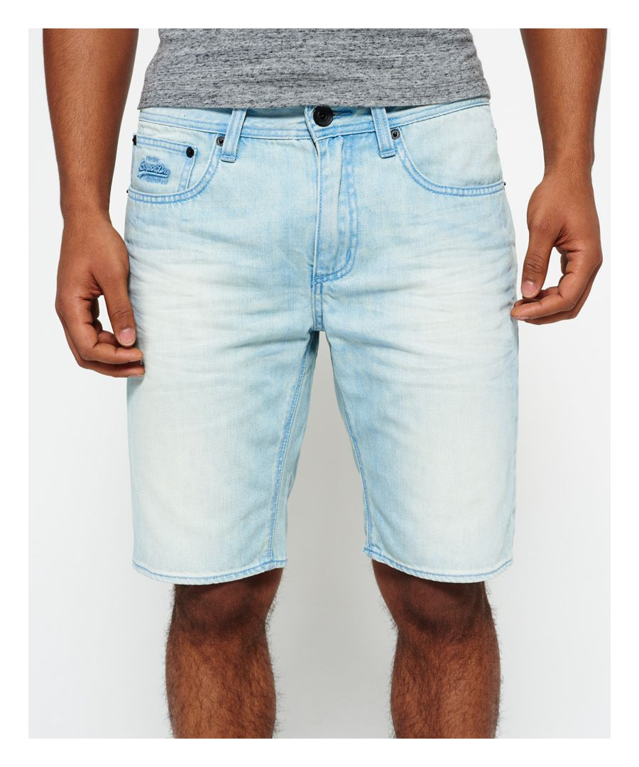 Image for Superdry Officer Slim Denim Shorts