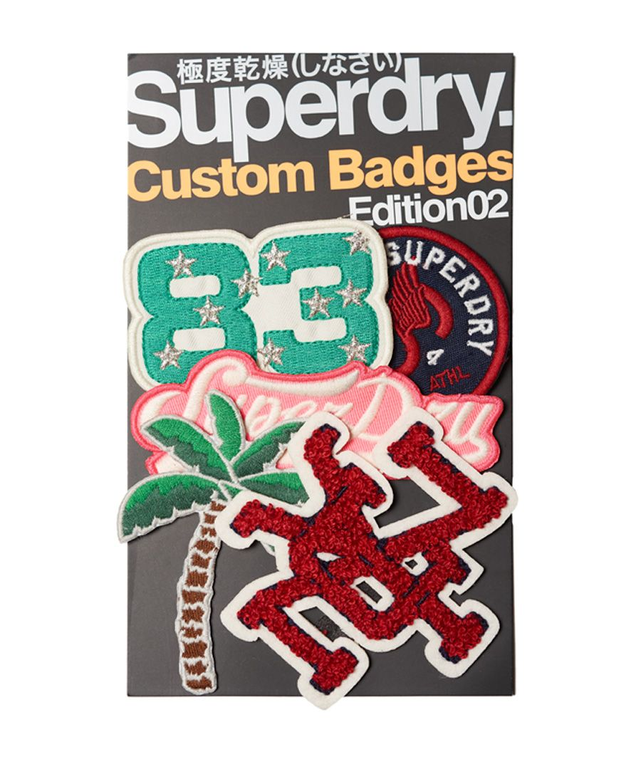 Image for Superdry Custom Woven Badge Pack
