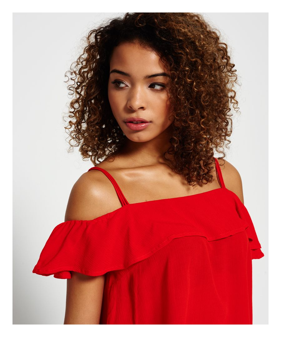 Image for Superdry Peekaboo Palm Cami Top