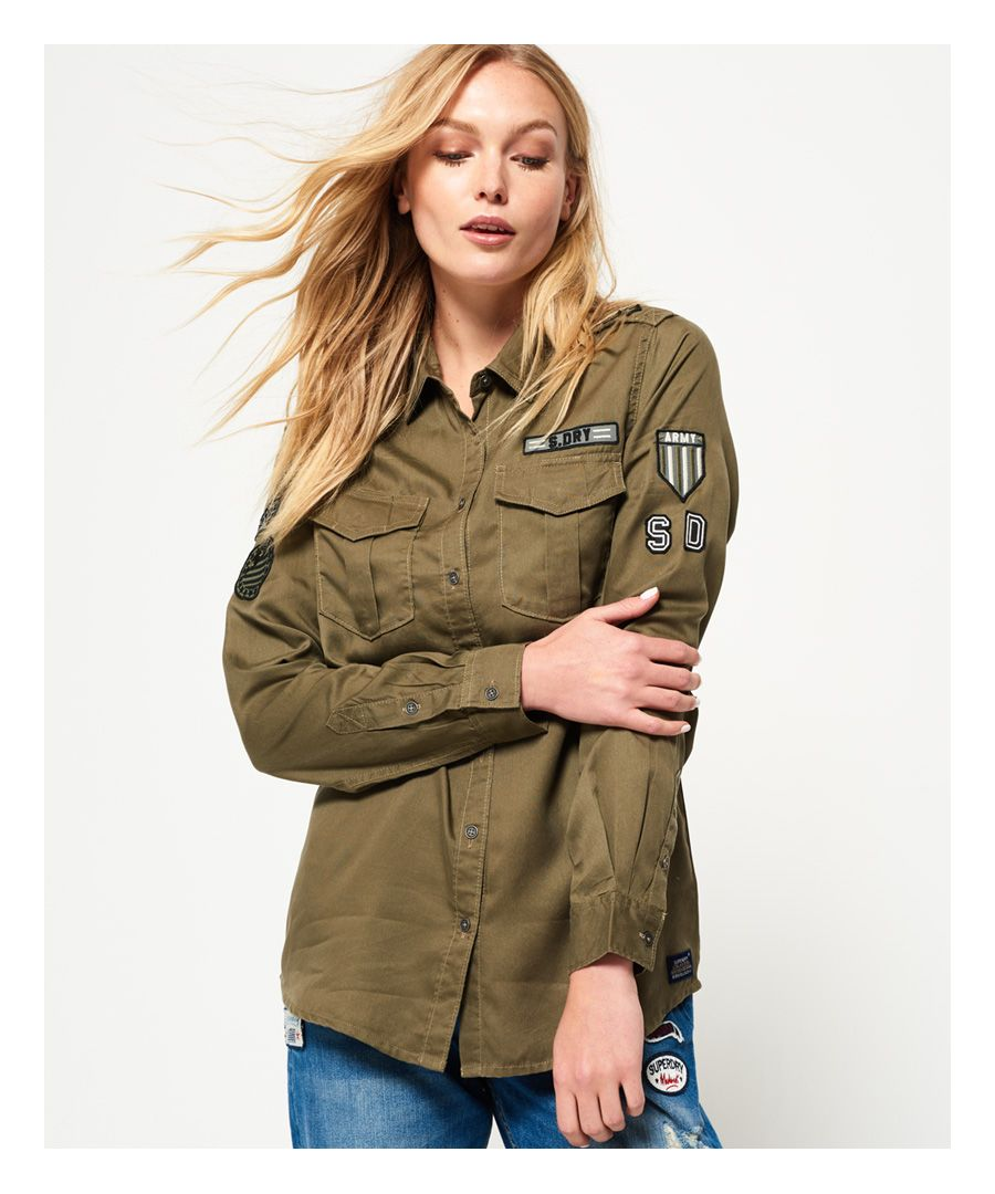 Image for Superdry Military Shirt
