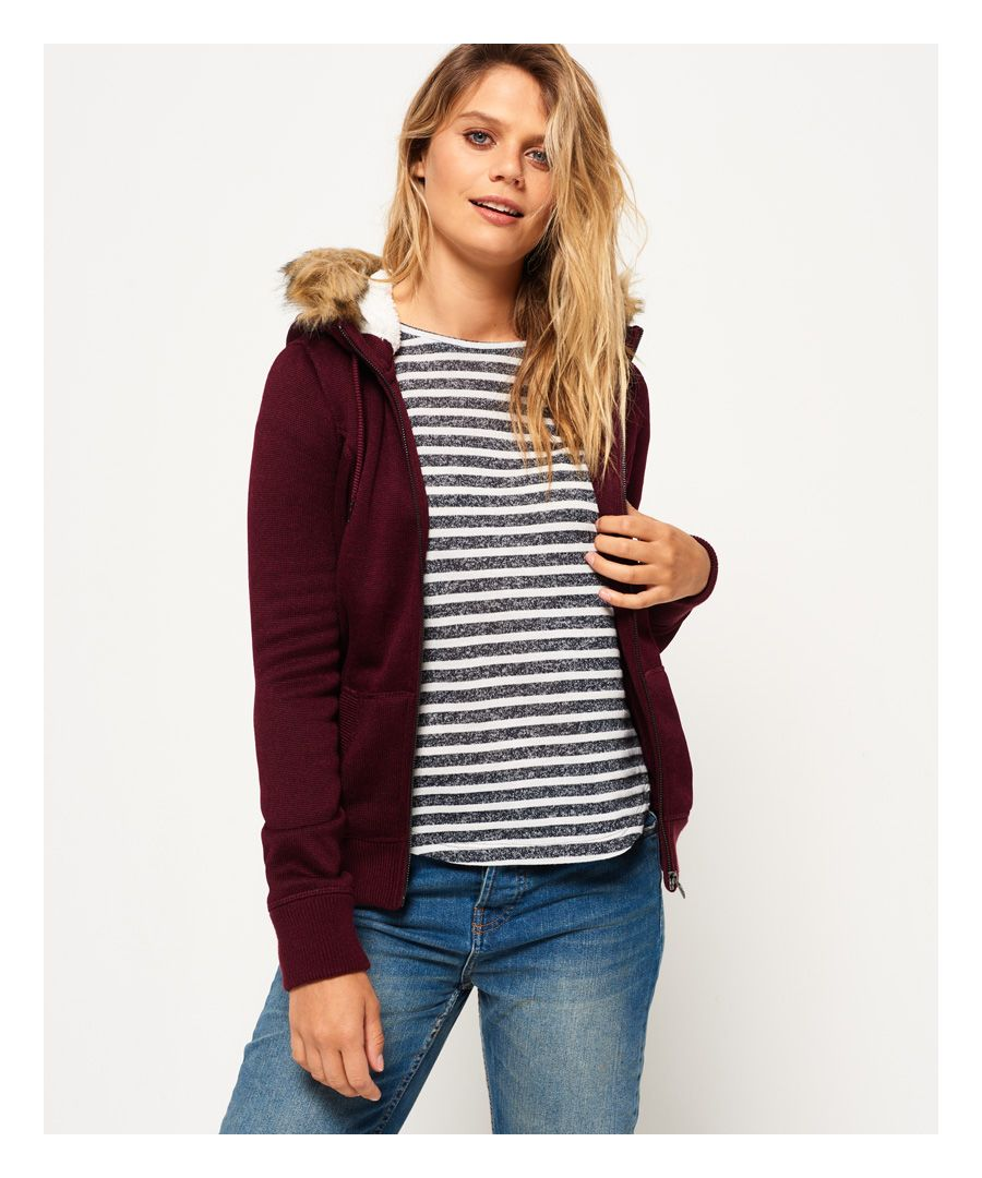 Image for Superdry Storm Faux Fur Ziphood