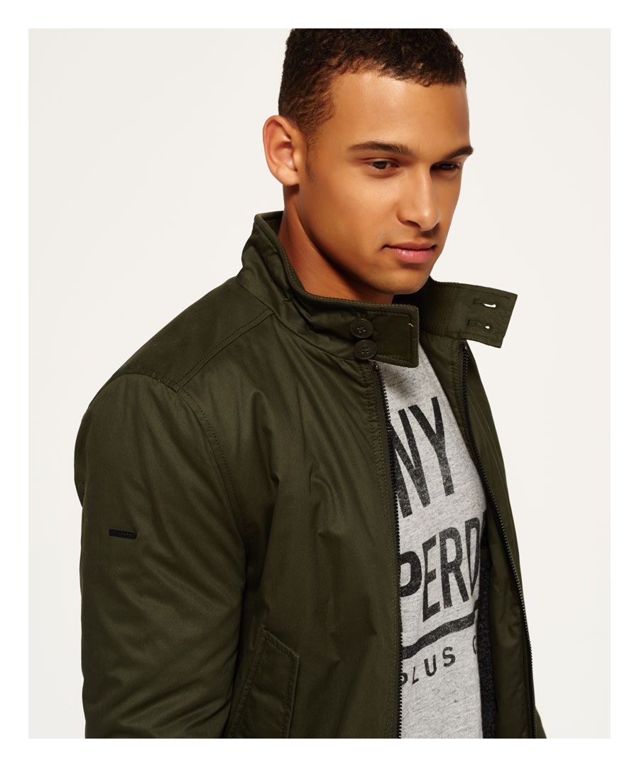 Image for Superdry Winter Longhorn Harrington Jacket