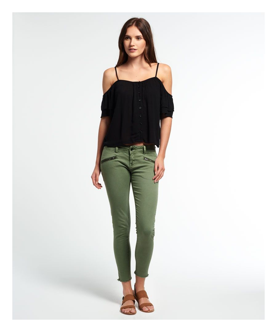 Image for Superdry Leila Skinny Cropped Jeans
